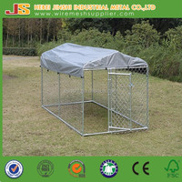 Chain link and welded wire Large Dog Kennel