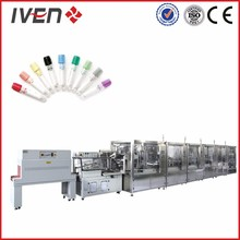 Vacuum blood collection tube gel cap filling machine