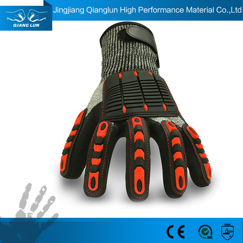 Marvelous Custom Rugged Wear Working Safety Gloves