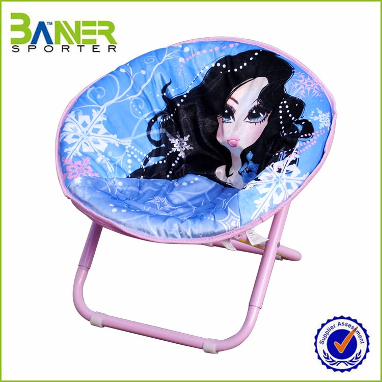 Cute Eco-Friendly Washable no legs folding chair
