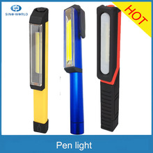 The Larry HOT selling battery operated super bright wholesale pen light with clip for sale