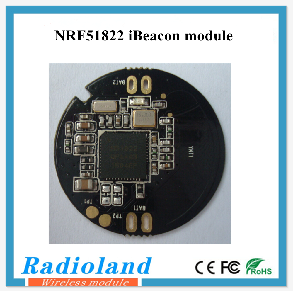 smallest NRF51822 bluetooth low energy module with high quality bluetooth 4.0