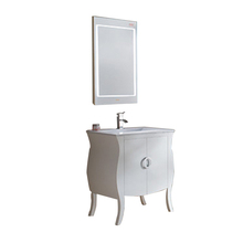 Classic European Style Cheap Bathroom Mdf/Solidwood Cabinet Vanity