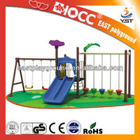 New product kindergarden swing toy equipment,plastic toy ,swing