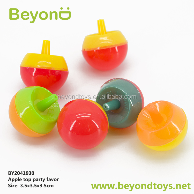 cheap capsule toy promotional plastic spin top bayblade for children
