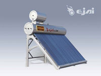 Compact cooper coil Solar water heater residential with stainless water tank