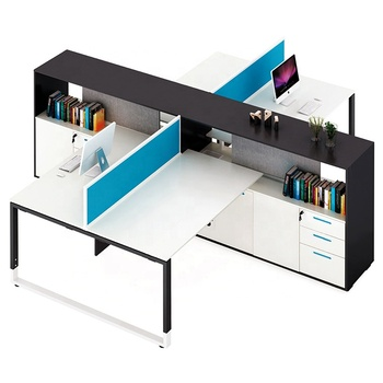 6 2 4 Person Workstation Furniture Modern Office Workstation With