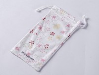 Microfiber Pouches for Mobile Phone with Artwork Printing, Customize Design are Accepted (XY-00221)