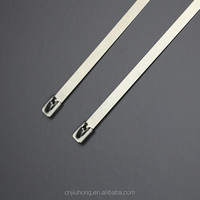 high strength release cable tie with stainless steel ss201 ss304 ss316