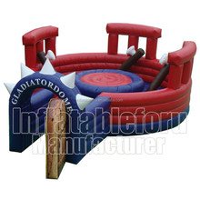 Interactive sport games inflatable gladiator joust for sale SKW - 025