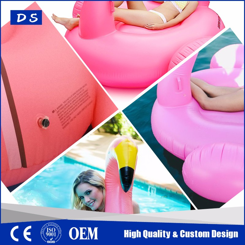 Giant Inflatable Flamingo Pool Float Seat Giant inflatable