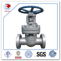 gate valve with OS&Y handwheel flange