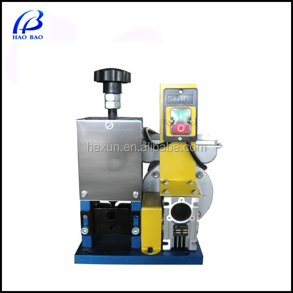 HW-S25 High quality cable making equipment and Scrap Wire Stripper Machine with CE Available Size: 1-25mm