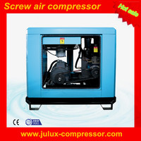 3.2m3/min 7 bar AC power electric motor oil less 18.5kw 25hp factory supply rotary screw air compressor