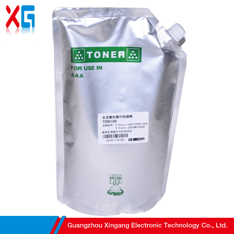 Universal Toner Powder Refill 1KG Packing Compatible For Toshiba T-4530 E-Studio 205L 255 305 E-Studio 355 455