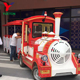 Kids Outdoor Adult Rides Set Mall Diesel Road Sightseeing Tourist Amusement Park Trackless Electric Train For Sale