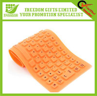 Customized Foldable Bluetooth Silicone Keyboard