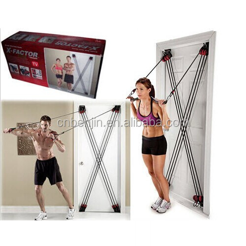 Total Exercise Equipment X Factor Door Gym Straps Resistance Training