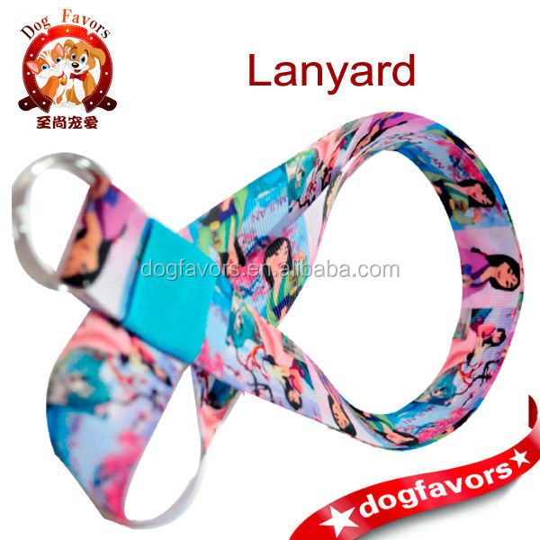 Disneys Mulan ribbon lanyard