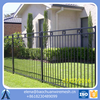 decorative metal fencing / metal deer fence / outdoor metal fence
