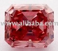 0.80 Ct SI1 Vivid Purplish Pink Diamond