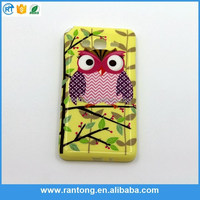 New printing picture design cover case for samsung galaxy core soflt TPU case