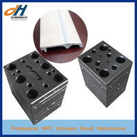 Wood Plastic PVC Skirting Baseboard Extrusion Mould