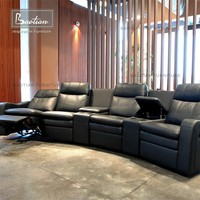 Baotian Furniture Italian style recliner sofa for home theater sofa