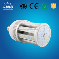 waterproof e40 e27 27w led corn light bulb