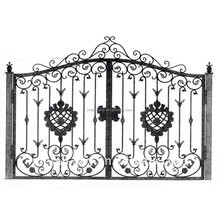 double iron gates,used wrought iron gates, used driveway gates