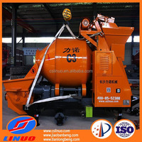 Linuo C3 Drum concrete mixer pump, stationary cement mixer pump