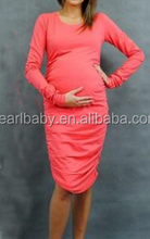 OEM top quality factory direct sell spring maternity dress