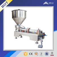 Semi automatic small container Paste and Liquid Filling Machine