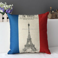 F-Series France paris series Eiffel Tower 40X40cm Pillow and Comfortable Cushion