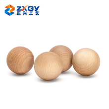 2018 Modern Design Unfinished Beech Wooden Ball For Decoration