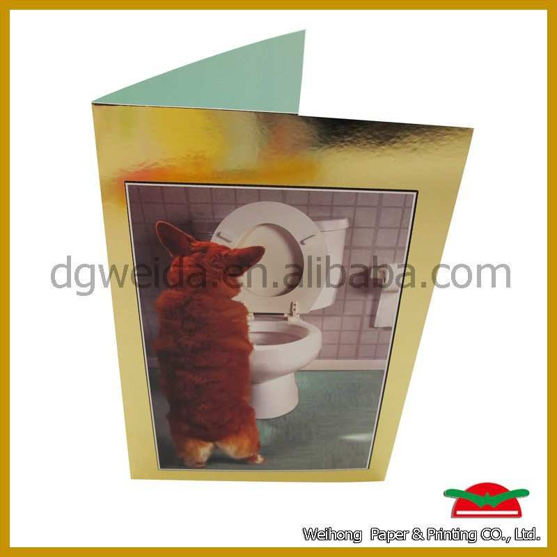 Custom picture printed greeting cards