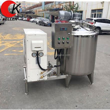 Industrial large scale cheese milk pasteurizer