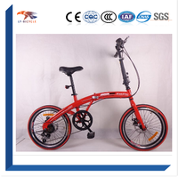 "STOCK RETRAIL 20"" STEEL 6SPEED FOLDING BICYCLE/LADIES FOLDING BIKE"
