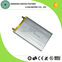 Rechargeable 3.7v Li-ion Polymer Battery 4000mAh for Wireless Mouse Keyboard