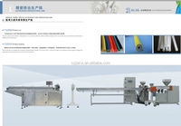 Silicone rubber sealing strip extruder machine line(ISO9001,2000,CE, 2015 new design)