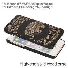 wooden style cell phone case,natural wooden cell phone cover for iphone 7/7plus