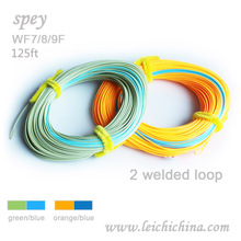 Special double color Real Spey fly fishing line