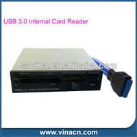 3.5 inch All-in-1 USB 3.0 Internal Card Reader with 6 Slots