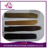6A double drawn hot wholsale sale 100% human hair straight or curl or wave weft extension goods romantic angel hair