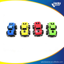 Small plastic toy cars for kids, mini toy car with can, cheap plastic toy cars