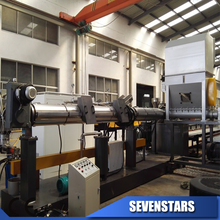 PP PE film recycle plastic granule pelletizing production making line