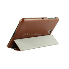High quality folio universal leather case for 7 to 8 inch tablet cover
