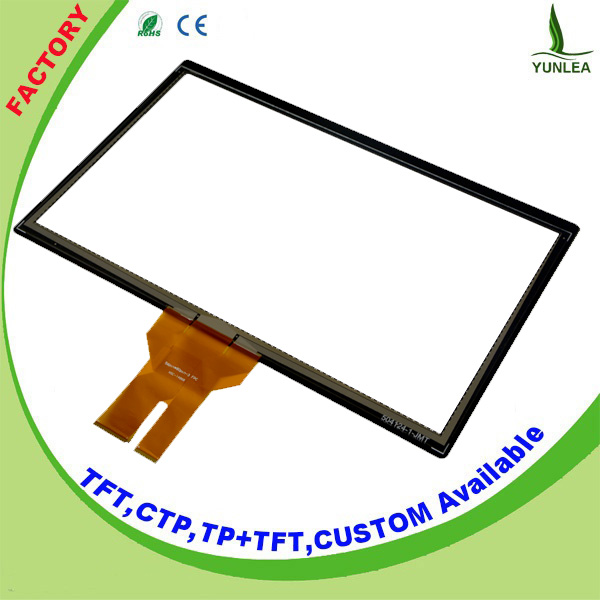Max 10 touch points 24 inch capacitive touch screen with EETI Chip