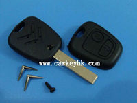 Citroen key blank2 button C5 remote key blank smart car keys