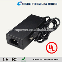 Factory Outlet SAA PSE CE UL 12V 5A 60W CCTV Adapter Power Supply